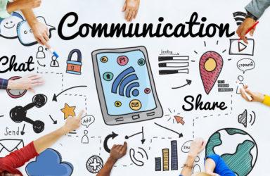 médias pour communiquer des informations