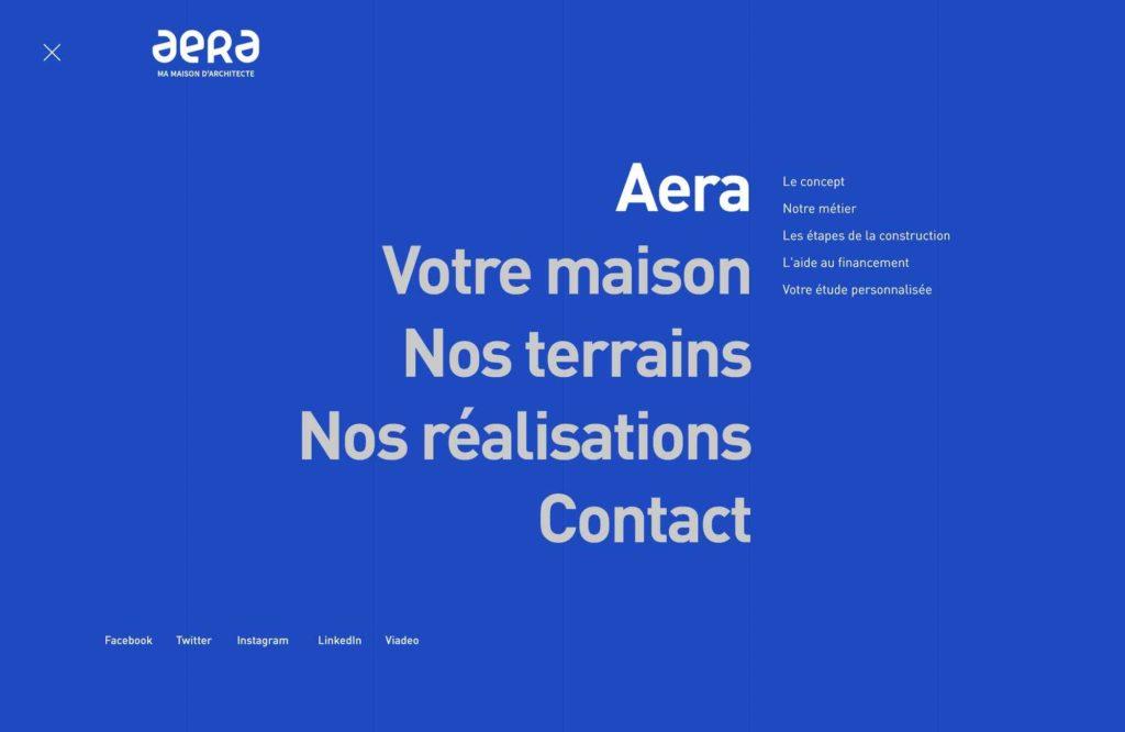 Création de sites internet à Mulhouse : zoom sur le site des maisons Aera